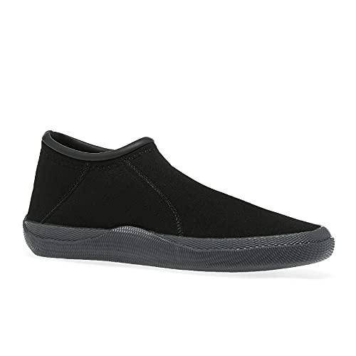 BILLABONG Tahiti Reef 2mm Neoprene Wetsuit Shoes - Negro - Unisex - Costuras de Neopreno en la Parte Superior y Flatlock Costuras Flatlock