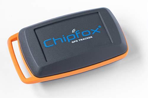 CHIPFOX Retail - Tracker GPS sin Necesidad Tarjeta SIM - Localizador para Coche, Moto, equipajes, Personas - más de 1 año de autonomía. Sigfox