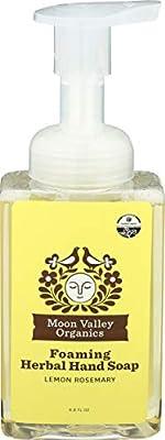 Moon Valley Organics, Soap Hand Liquid Lemon Rosemary Organic, 8.8 Fl Oz