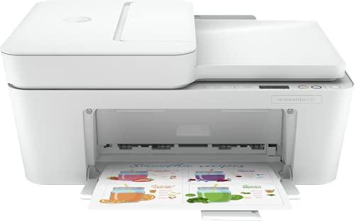 HP DeskJet Plus 4120 3XV14B, Impresora Multifunción A4, Imprime, Escanea, Copia, y Fax, Wi-Fi, USB...
