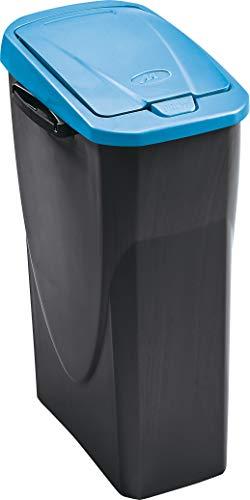 mondex 278Y254 - Cubo Ecobin 25L Con Tapa Azul