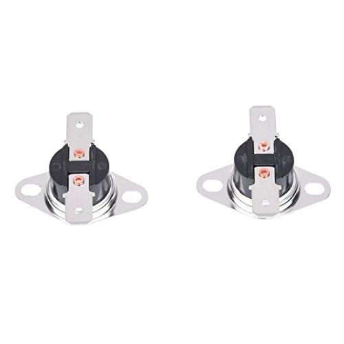 Gaetooely 150C NC Interruptor de temperatura termostato ceramico KSD301 2 piezas