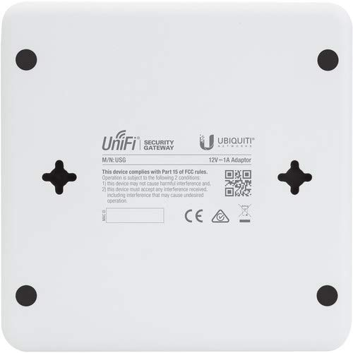 Ubiquiti USG Netzwerk/Router ( 3 Gigabit-Ethernet-Ports, UniFi-Controller)