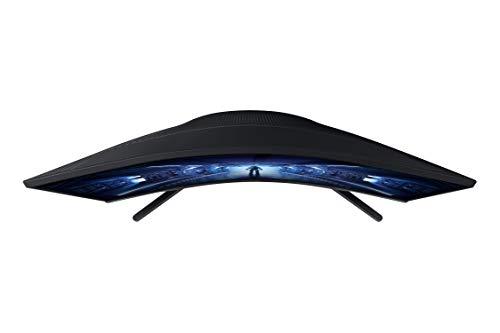 Samsung Odyssey C27G53T 27 Zoll 1000R Curved Gaming Monitor mit 2560x1440p Auflösung, 144hz Bildwiederholrate, 1ms Reaktionszeit