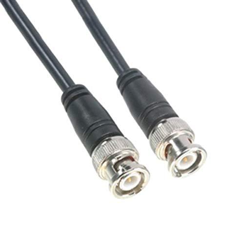 Amphenol CO-058BNCX200-003 - Cable coaxial RG58, 50 Ohm, BNC macho a BNC macho, 3 '