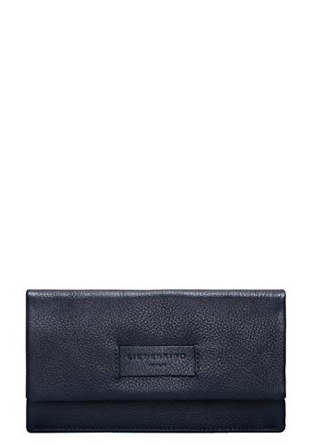 Liebeskind Berlin Damen Essential Slam Wallet Large Geldbörse, Blau (Navy Blue) 2x10x19 cm