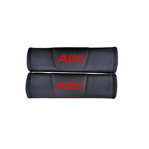 Cinturón seguridad extraíble automóvil Almohadillas confort Fundas correas cinturón seguridad, para Suzuki Alto automóvil Cinturones seguridad moda Protección hombreras Accesorios calidad 2 piezas