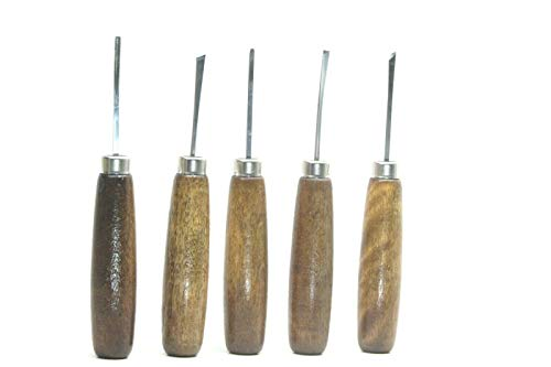 5pc Micro Miniature Wood Carving Tools Luthier Violin Set Ramelson USA 106H