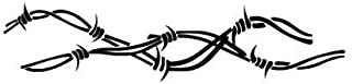 Barbed Wire Barb - Vinyl Decal Sticker, Die cut vinyl decal for windows, cars, trucks, tool boxes, laptops, MacBook - virtually any hard, smooth surface