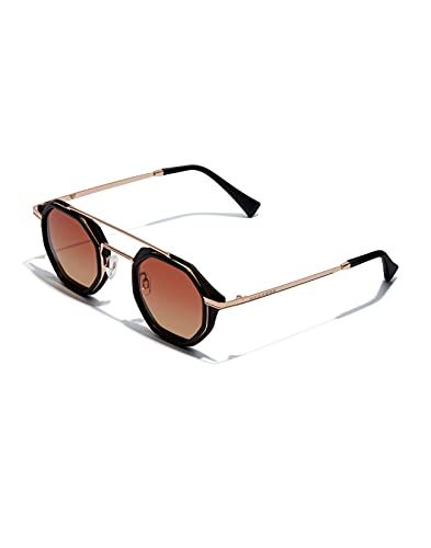 HAWKERS Pierre GASLY X CITYBREAK Gafas de Sol, Dorado Rosa, Adulto Unisex Adulto