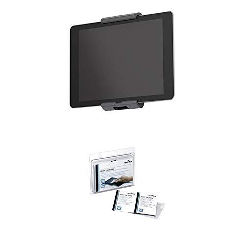Durable 893323 Tablet Wandhalterung (für Tablets 7-13 Zoll, 360° drehbar mit...