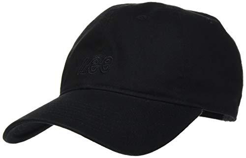 Lee Herren Schirmmütze Cap, Schwarz (Black 01), One size (Herstellergröße: 88)