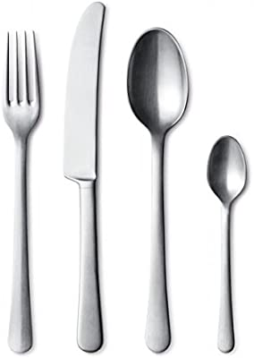 Copenhagen Cutlery 16 Pcs Giftbox set, Matte Stainless Steel