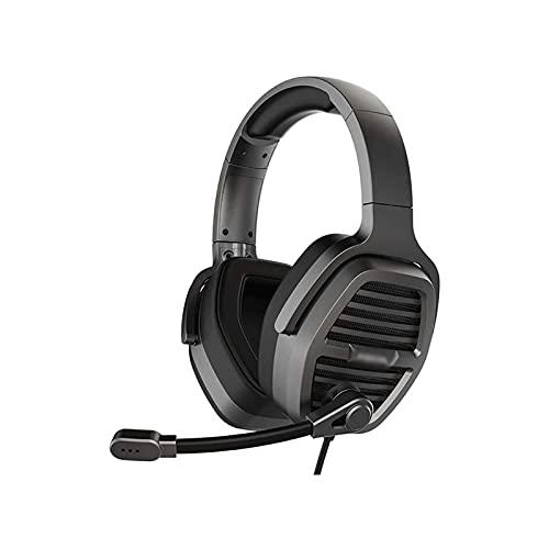 WGLL Auriculares de Juegos, 7.1 Sonido Envolvente, Almohadillas de Orejas de Espuma de Memoria, micrófono Desmontable, Trabaja con PC, PS4, Xbox uno