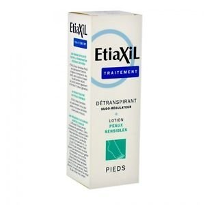 Etiaxil Unperspirant Lotion Treatment for Feet Normal Skins by Etiaxil