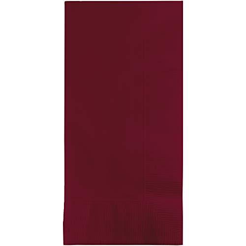 Creative Converting Burgundy Red Paper Dinner Napkins