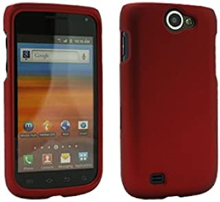 Rubberized Red Snap-On Cover for Samsung Exhibit II 4G SGH-T679