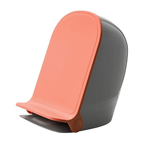 Papelera Pedal del bote de basura con tapa interior del cubo de basura de plástico y papelera for sala de estar Dormitorio Cocina Baño Estudio de contenedores de basura Cubo de Basura ( Color : A )