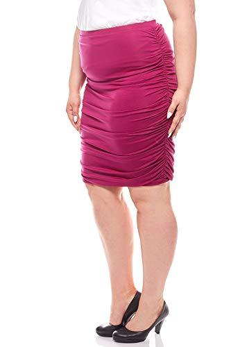 Ashley Brooke Knielanger Stiftrock Rock Jersey-Rock Lila by heine, Größenauswahl:40