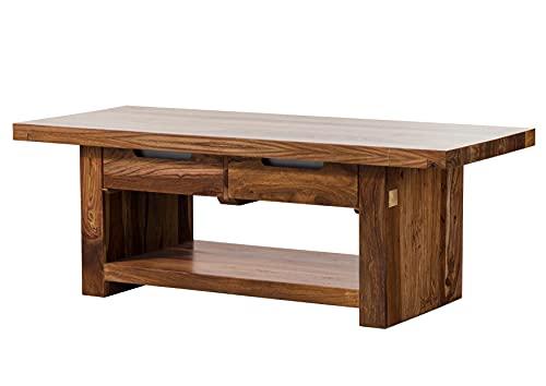 Table Basse 140x60cm - Bois Massif de Palissandre laqué - Duke #121