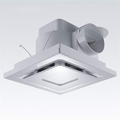 Release Ventilador de Escape de Alta Velocidad de 10 Pulgadas, Ventilador de conducto silencioso para el hogar, Extractor de baño, tubería, Cocina, Inodoro, Ventana, Ventilador de Limpieza de Aire de