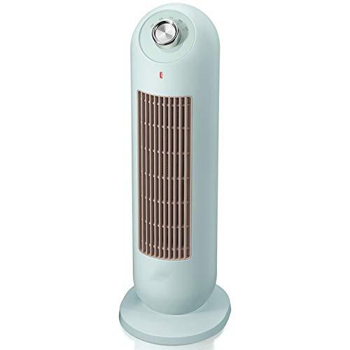 JINBAO Calentador Calentador eléctrico doméstico Mini Calentador Calentador eléctrico portátil de Escritorio Calentador de Escritorio de Oficina pequeña Verde