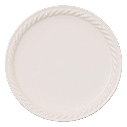 Villeroy & Boch Montauk Assiette à dessert, 22 cm, Porcelaine Premium, Blanc