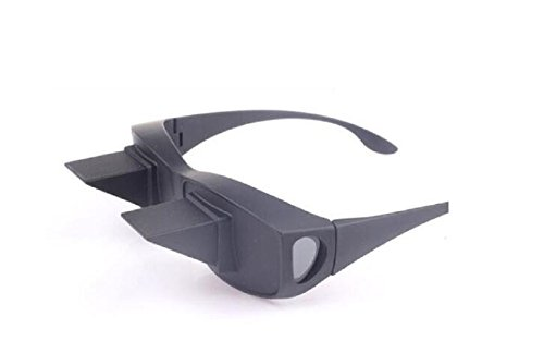 NiceButy Brille für Faultiere, horizontal, Brille, Prisma, Winkel, Brille, Prisma, Lesebrille, horizontale Brille für Faultiere, Lesen und Fernsehen