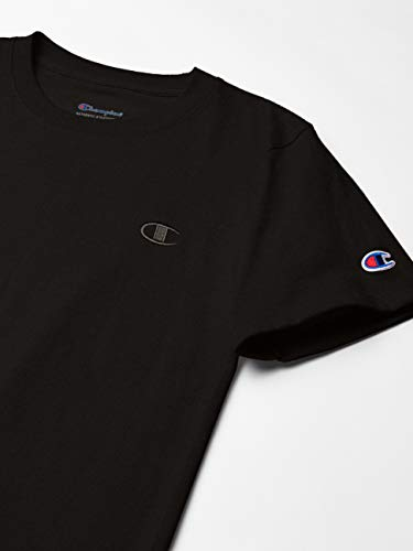 Champion Men's Classic Jersey T-Shirt, Black, 3XL