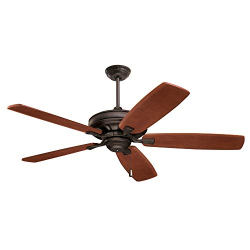 kathy ireland HOME Carrera Grande Eco Ceiling Fan Fixture with 6-Speed...
