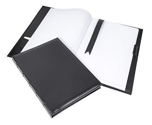Cambridge Premium Leather Journal (Black Napa)