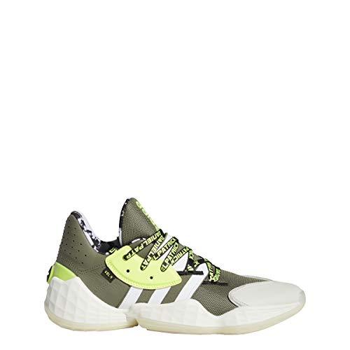 adidas Harden Vol. 4 - Zapatillas de baloncesto para hombre, color verde, Hombre, FV8921, verde, 42 UE