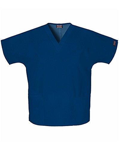 Cherokee –Camiseta con cuello en V para mujer - Azul -