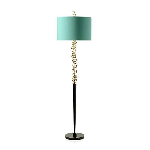 Metalen staande lamp moderne staande vloer lamp voor woonkamer slaapkamer eenvoudige kolom staande lamp creatieve verticale armatuur, 158cm 01-31