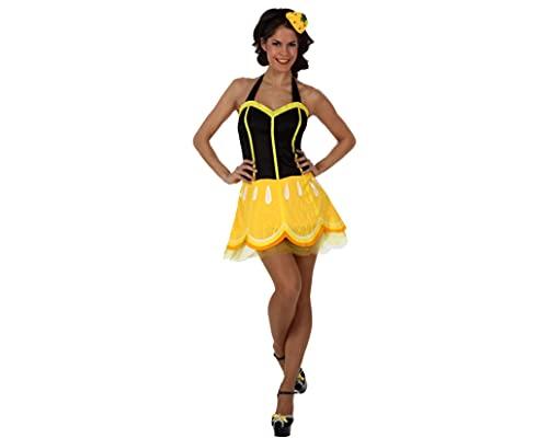 ATOSA disfraz limon mujer adulto M