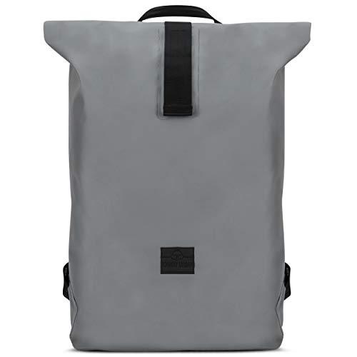 Roll Top Backpack Waterproof Women & Men Olive Green - JOHNNY URBAN'Alec' Rolltop Courier...