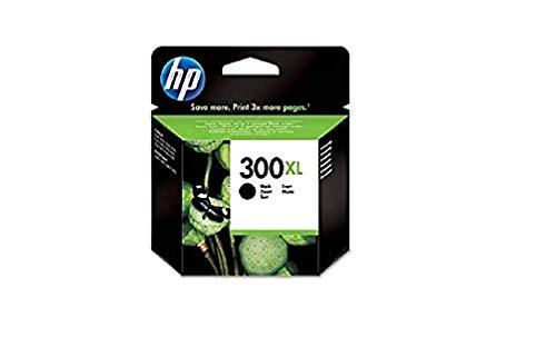 HP 300XL CC641EE, Cartucho de Tinta Original de alto rendimiento, Negro, compatible con impresoras de inyección de tinta HP DeskJet D2560, D2660, F4280, F4224, F4283; Photosmart Serie C
