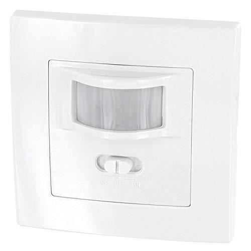 Unterputz PIR Bewegungsmelder 160° - LED geeignet - 2-Draht - Mindestlast nur 1W - für UP-Dosen Ø 60mm und Hohlwanddose Ø 68mm
