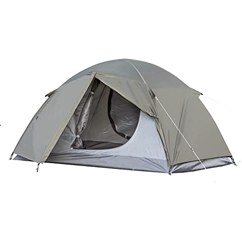 BUNDOK(バンドック) ツーリング テント BDK-18KA カーキ 収納ケース付 コンパクト収納 ドーム型 【1~2人用】