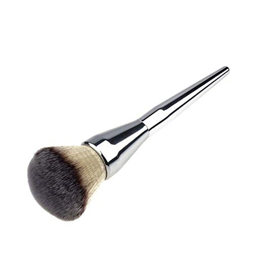 Make-up PinselBrushes Große lose Farbe Rouge Pinsel Foundation Brush Make-up-Tools -Silber