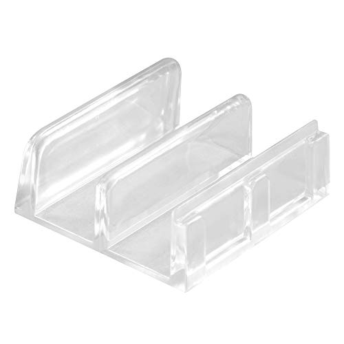 Prime-Line Products M 6059 Shower Door Bottom Guide Assembly,(Pack of 2)