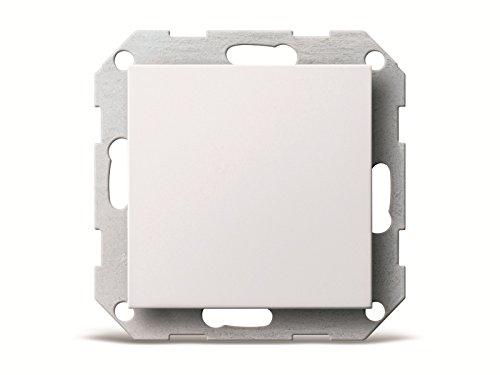 Gira 026803 Blindabdeckung mit Tragring System 55, reinweiß