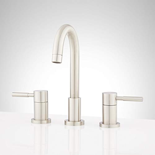Signature Hardware 948590 Edenton 1.2 GPM Widespread Bathroom Faucet with Pop-Up Drain Assembly