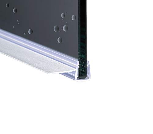 190cm EC-20-314 Guarnizione Box Doccia con Gocciolatoio per vetri di spessore da 6 e 8 mm