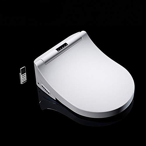 NGHXZ Intelligente toiletbril D-vorm elektrische bideafdekking warmte dubbele sproeier zacht wasgoed droogmassage fit wandtoilet 220V, 230V