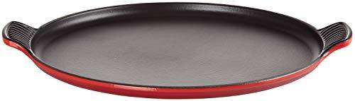 Le Creuset Padella per Pizza, Ghisa, Rosso Ciliegia, 32 cm