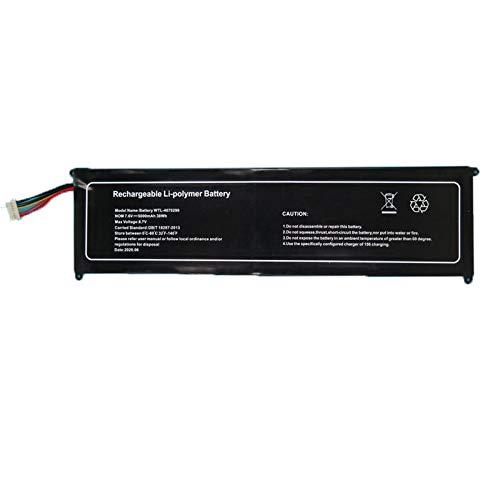 RTDpart Batería de portátil para YEPO 737T6 15.6 WTL-4070290 7.6V 5000mAh 38WH 10PIN Nuevo