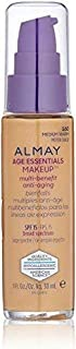 Almay Age Essentials Anti-Aging SPF 15 Foundation, 160 Medium Warm (Pack of 2)