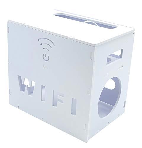 ZERONOWA ルーター 電源タップ ケーブル 収納 ボックス 整理 整頓 (Wi-Fi 中)