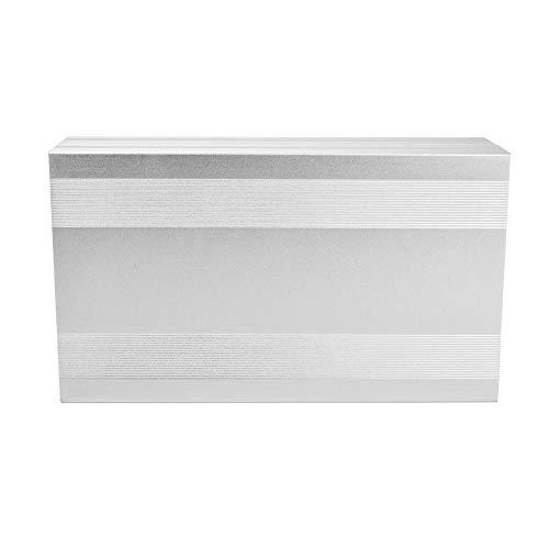 Caja de caja, caja de placa de circuito impreso duradera, alto rendimiento de protección de 2,68 x 5,71 x 9,84 pulgadas para decodificadores y controladores de productos electrónicos